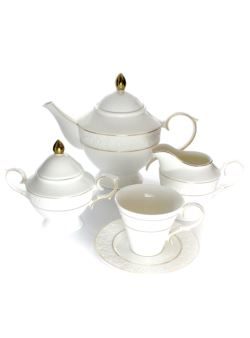 k37 kpl 17el porcelanowy kawa/herbata BoneChi