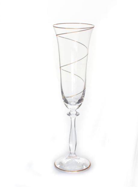 o-110/1 Bohemia Angela 6 kieliszków szampan 190ml