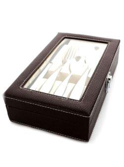 Common sztućce 24 szt kaseta brązowa b033