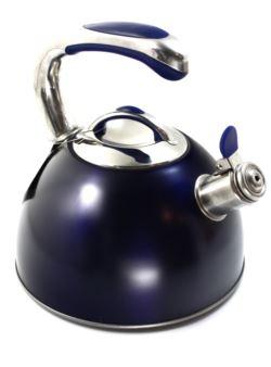 komm/k3 VISIT czajnik stalowy 2,5L niebieski mat