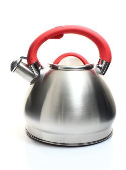 komm/k6z czajnik stalowy oksyda czerwo 3l INDUKCJA