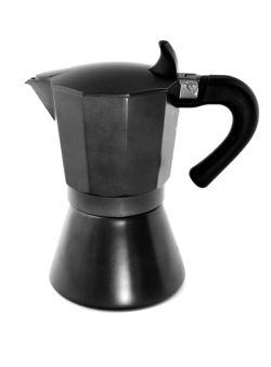 komm/k78 kawiarka aluminiowa czarna 500ml