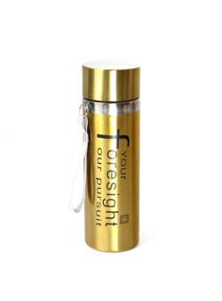 komm/k65 Butelka metalowa złota 350ml LUX