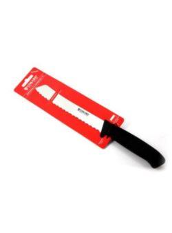 pol/ nóż bufetowy z 25 cm Oscard czarny ząbki