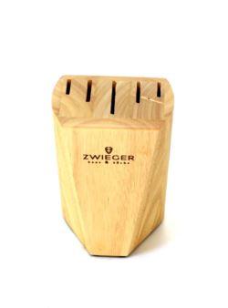 ZWIEGER HEVEA Blok na noże drewniany