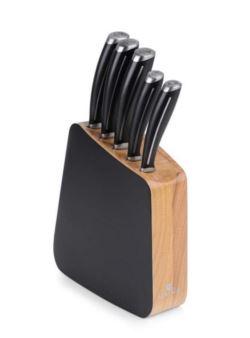 981m Gerlach Loft kpl 5 szt noże kuchenne w bloku