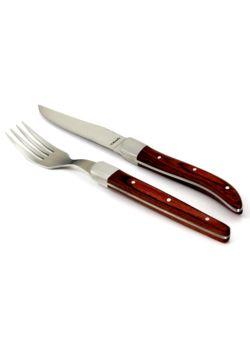 Amefa Royal Steak widelec do steków / pizzy brąz