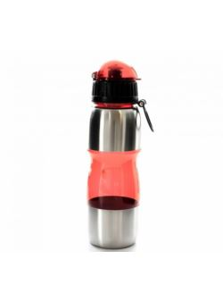 komm/b030r butelka fitnes czerwona