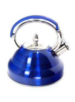 komm/e77n Lenardi czajnik stalowy niebiesk LUX