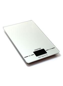komm/k76s waga kuchenna srebrna 5kg płaska
