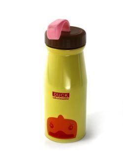 komm/k70ż butelka dla dzieci stalowa żółta 350ml