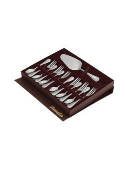 Amefa Duke kpl 13 szt deserowy w pudełku brązowy
