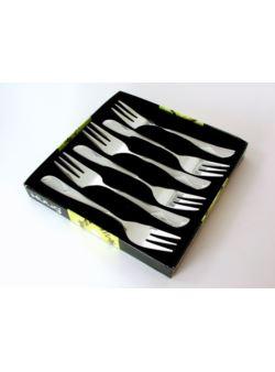 Kulig Lambda sztućce kpl 6 widelczyków do ciast