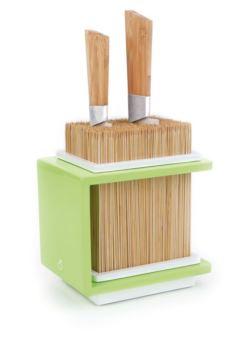 coo/fakirg Cookut blok - stojak do noży zielony