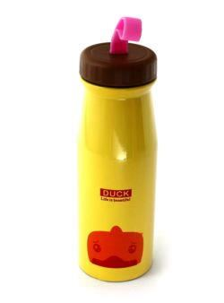 komm/k69ż termos dla dzieci stalowy żółty 450ml