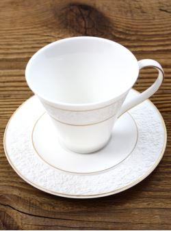 k41 serwis 12 el do herbaty kawy BoneChina 6 osób