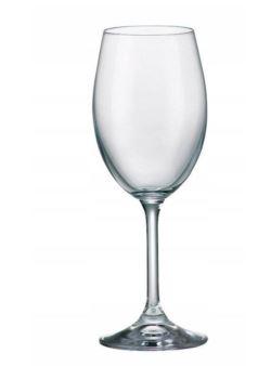 ka/708106 Bohemia Klara 6 klieliszki do wina białe