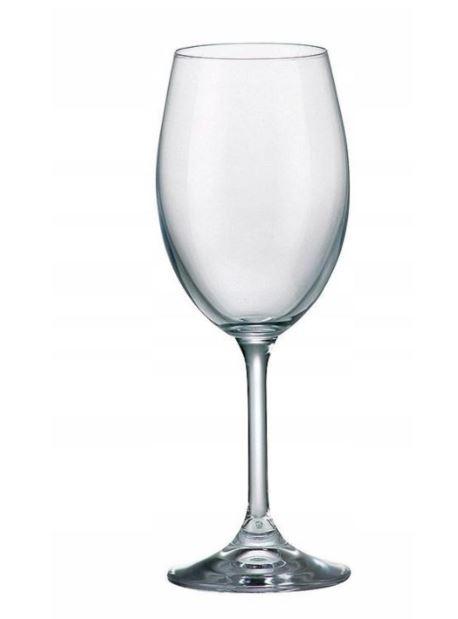 kan/708106 Bohemia Klara kieliszki do wina białe