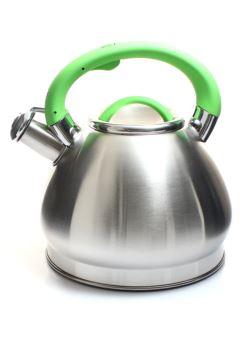 komm/k6c czajnik stalowy oksyda zielon 3l INDUKCJA