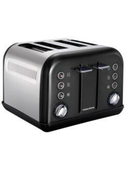 242018 Toster New Accents Black  MORPHY RICHARDS