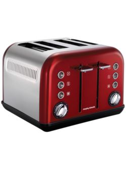 242020 Toster New Accents Red MORPHY RICHARDS